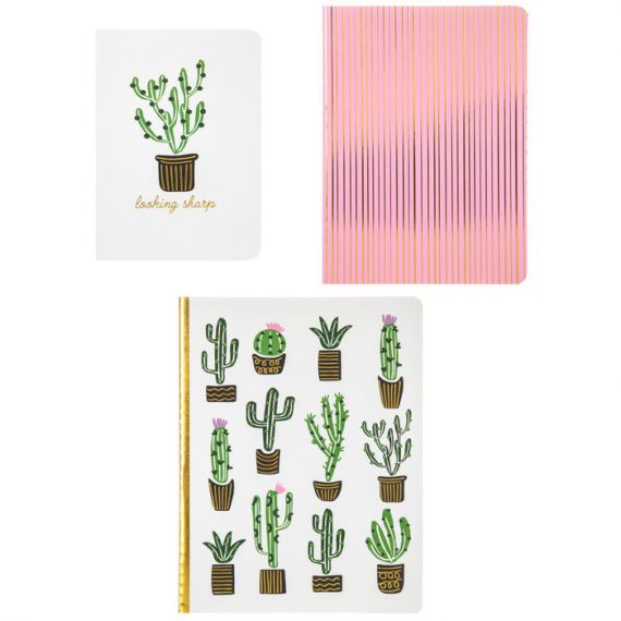 Cactus Notebook Set