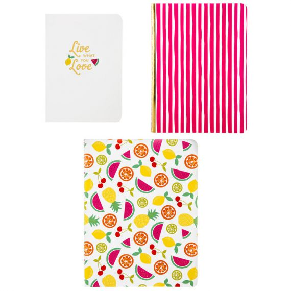Fruity Notebook Set